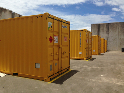 A guide to dangerous goods shipping containers