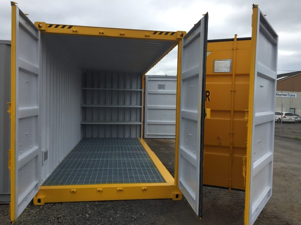 20 ft Containers as the perfect storage solution