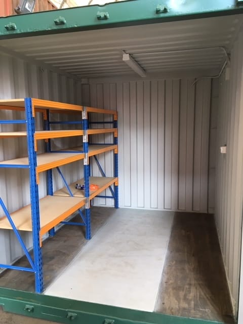Containerco Spare Shelving