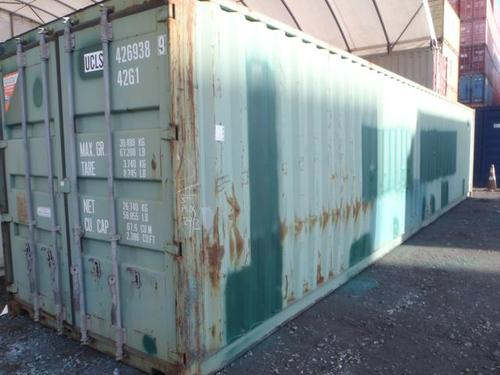 How an Economy Grade Shipping Container Looks