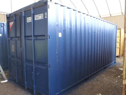 Standard Grade Refurbished Container - Painted Blue