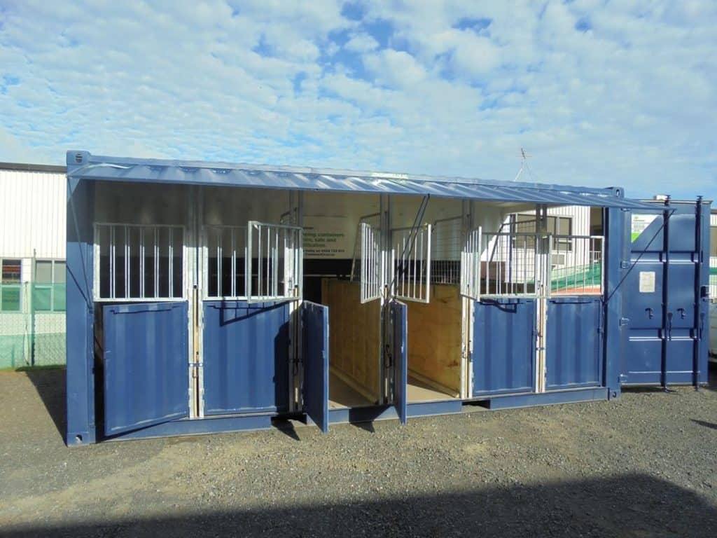 Container Hire Solutions 20 ft Container Horse Float