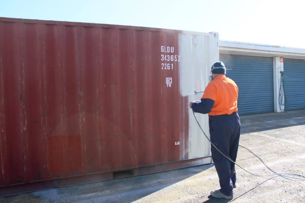 The Damage and Repairs of a Shipping Container